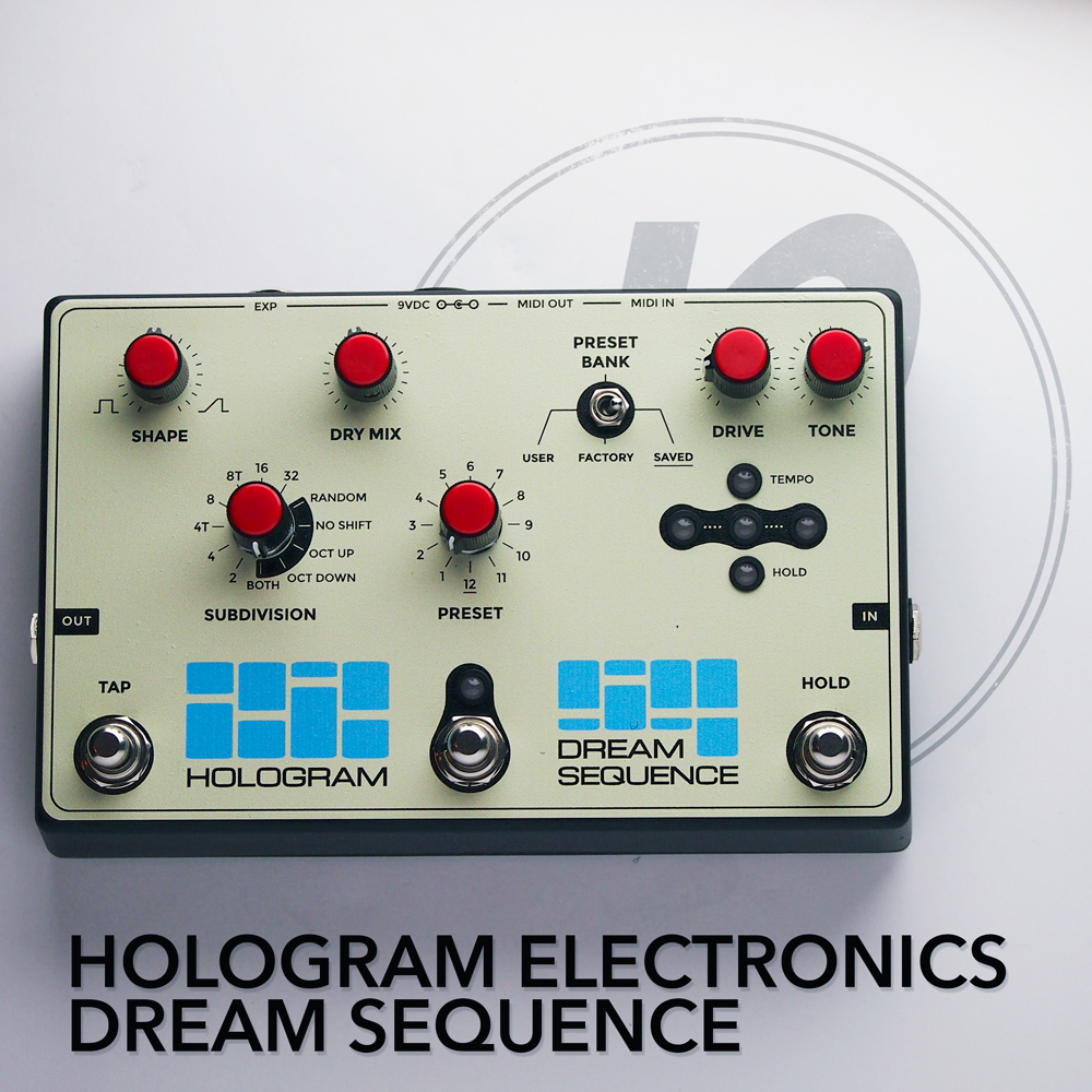 Hologram Electronics Dream Sequence Pedal Of The Day Bbe Wah Class A Circuit Design Icon Music