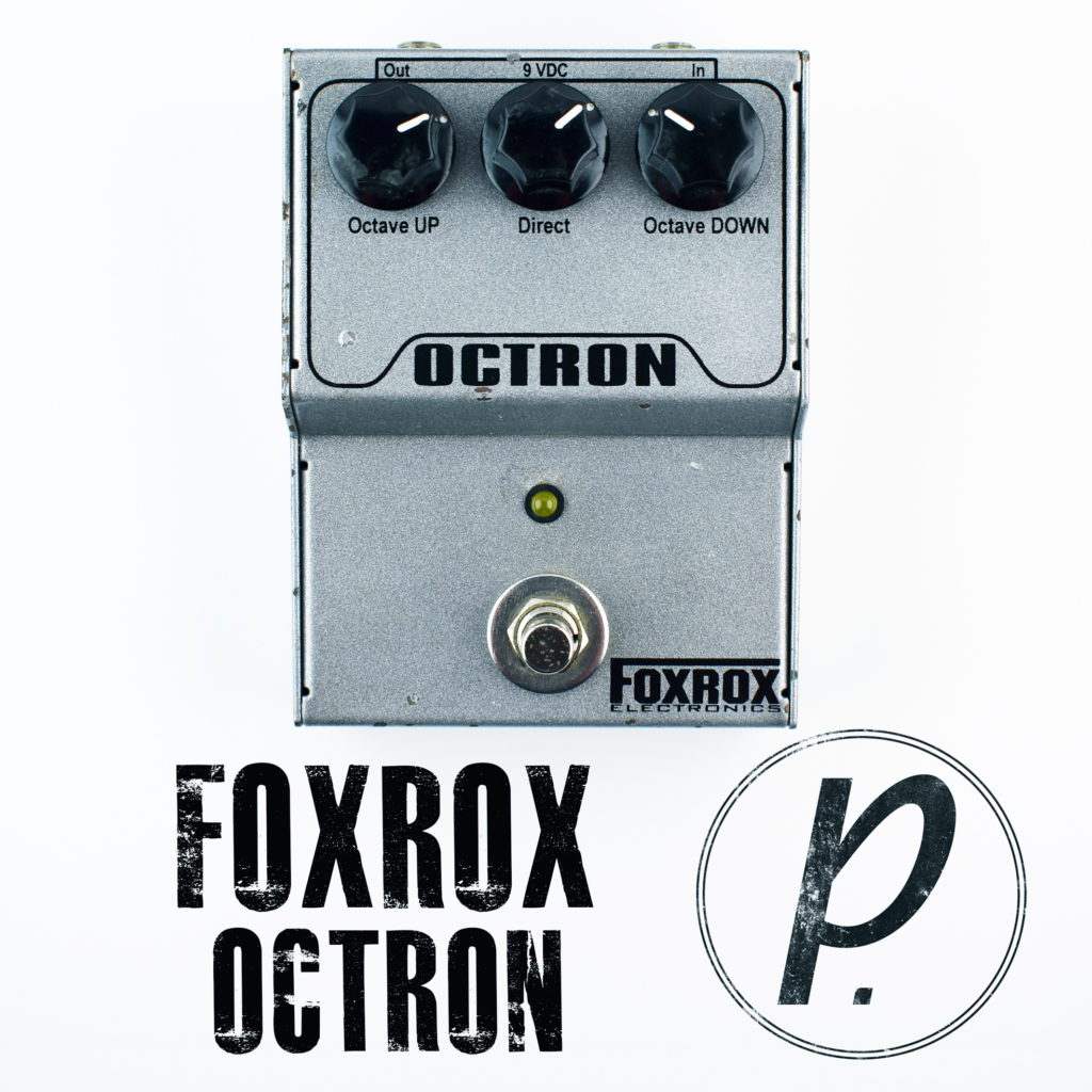 Foxrox Electronics Octron Octave Divider Pedal Of The Day Bbe Wah Class A Circuit Design Icon Music