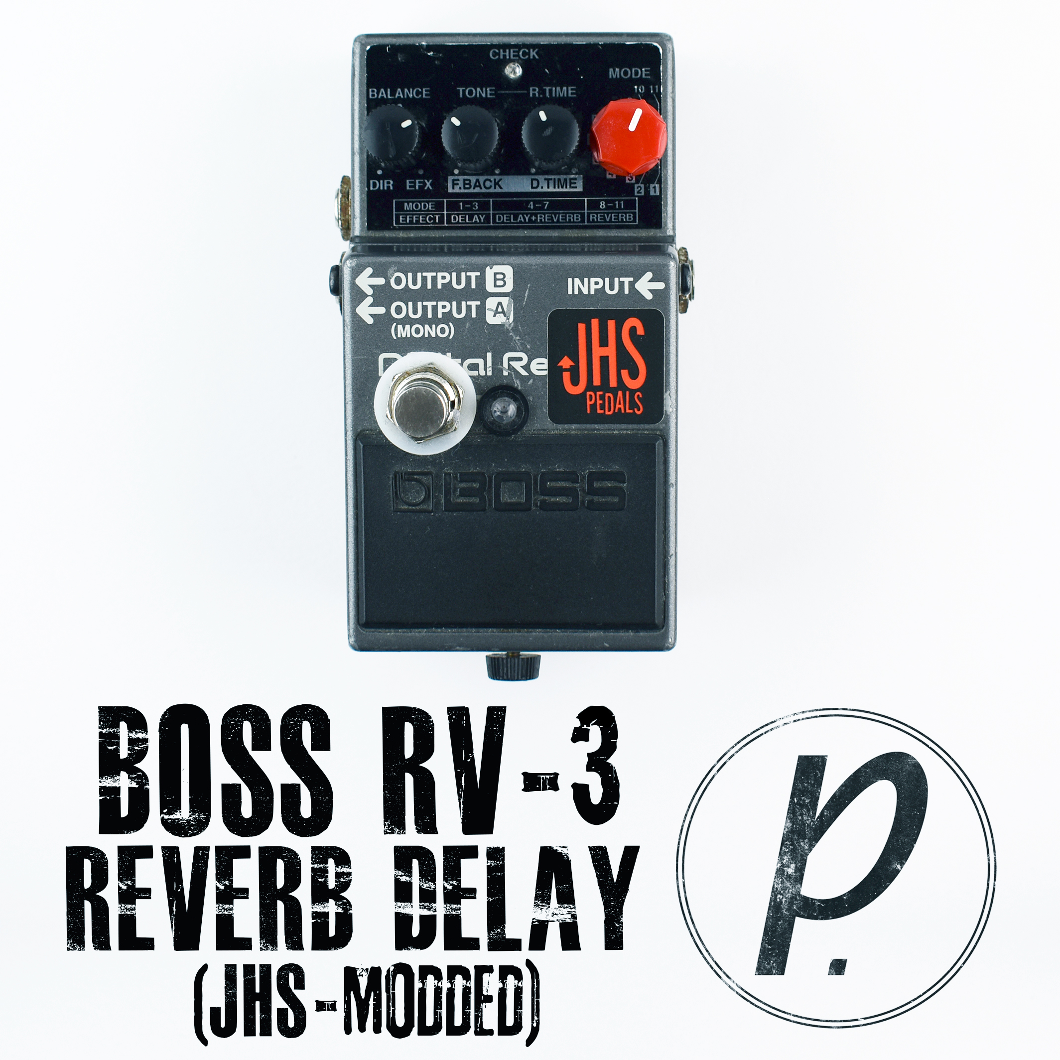 boss rv 3 digital reverb delay jhs dual mode mod pedal of the day. Black Bedroom Furniture Sets. Home Design Ideas