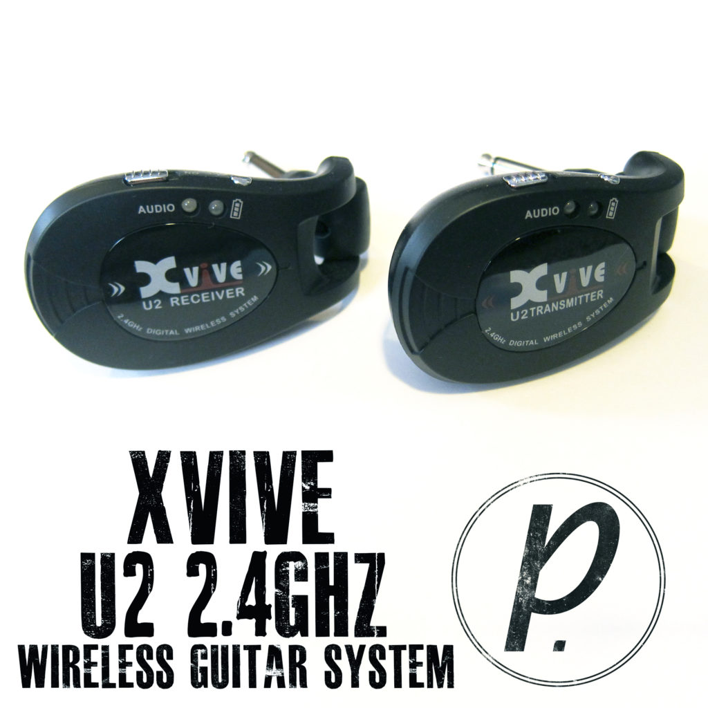 xvive audio u2 2 4ghz rechargeable wireless guitar system pedal of the day. Black Bedroom Furniture Sets. Home Design Ideas