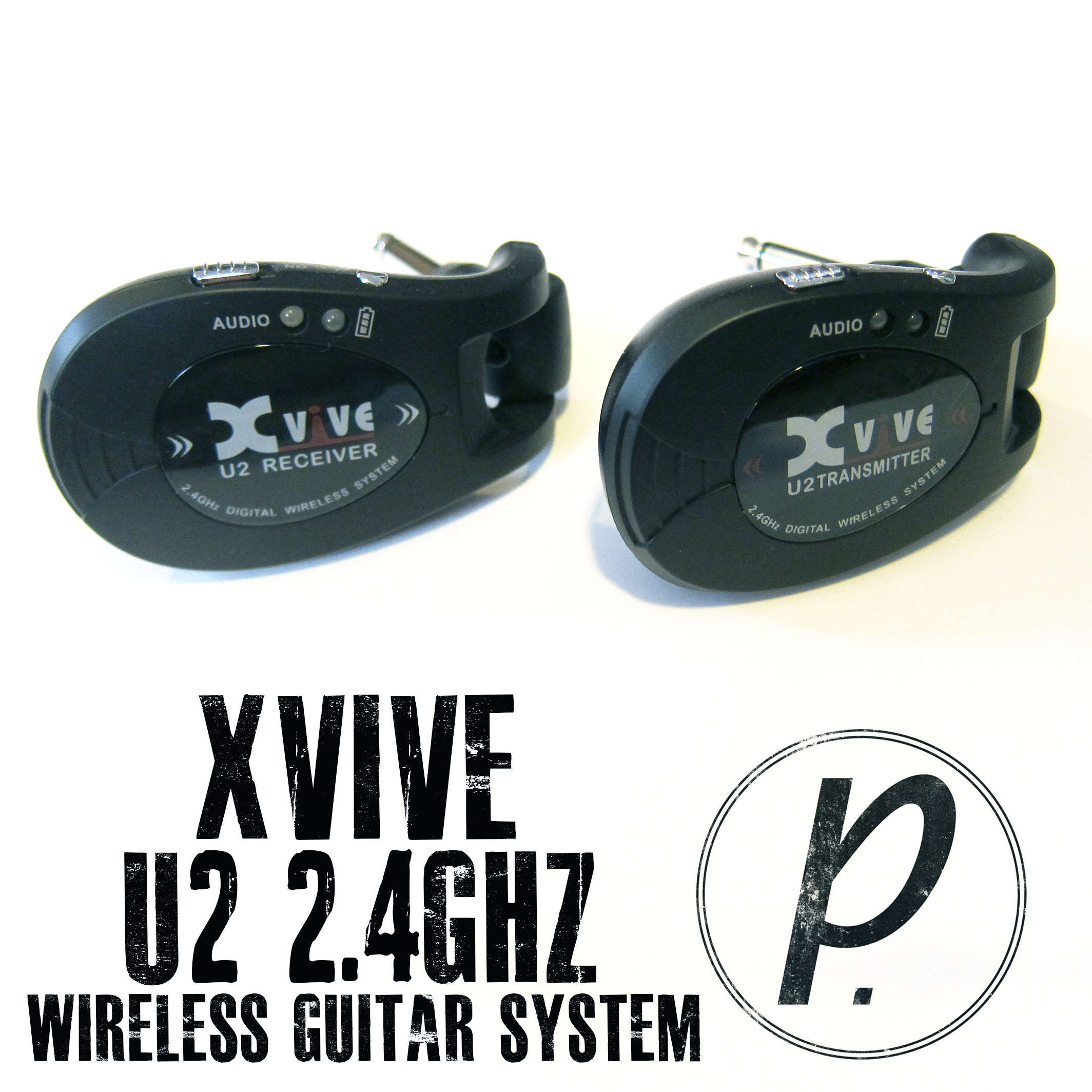 Xvive Audio U2 2 4ghz Rechargeable Wireless Guitar System
