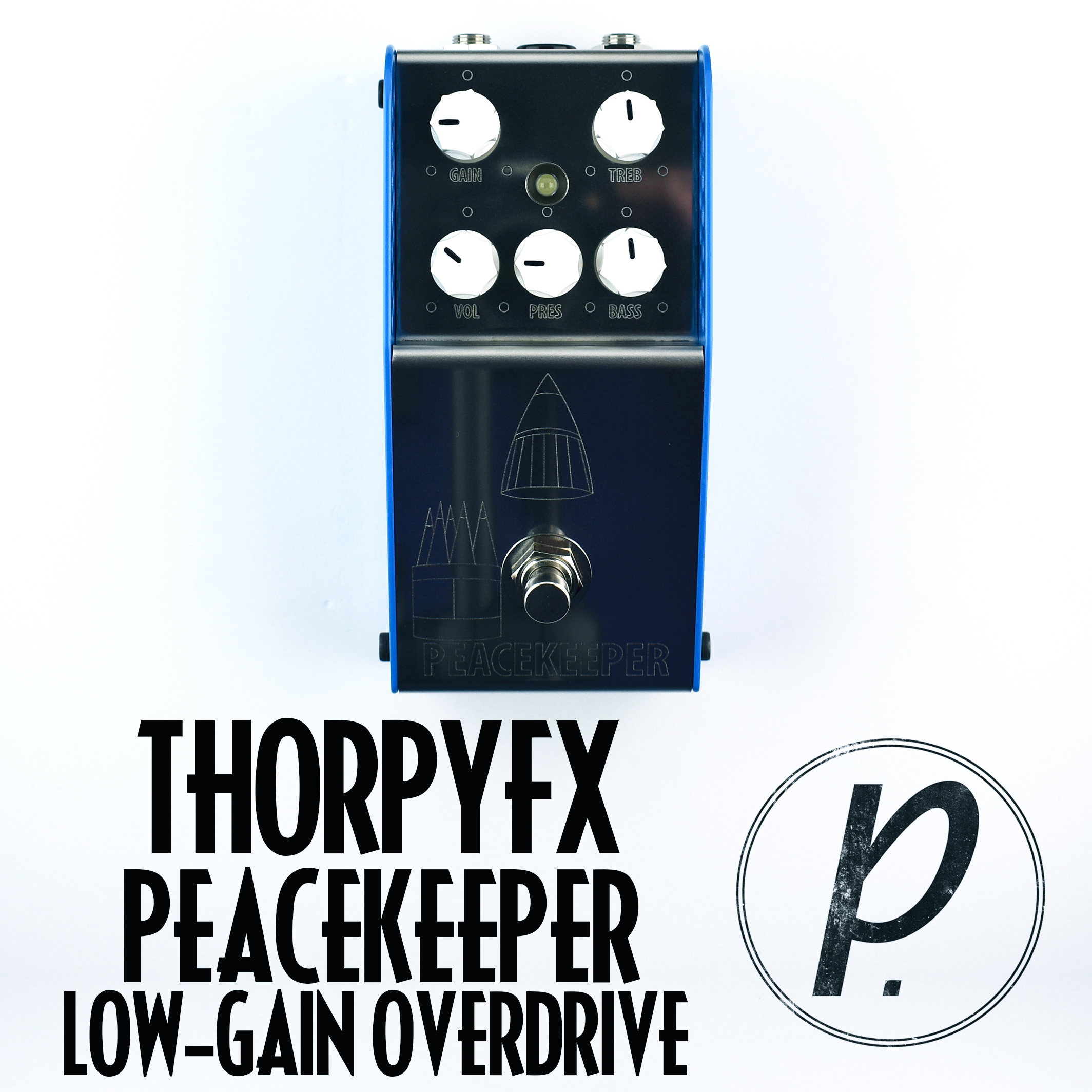 Thorpyfx Peacekeeper Low Gain Overdrive Pedal Of The Day Bbe Wah Class A Circuit Design Icon Music