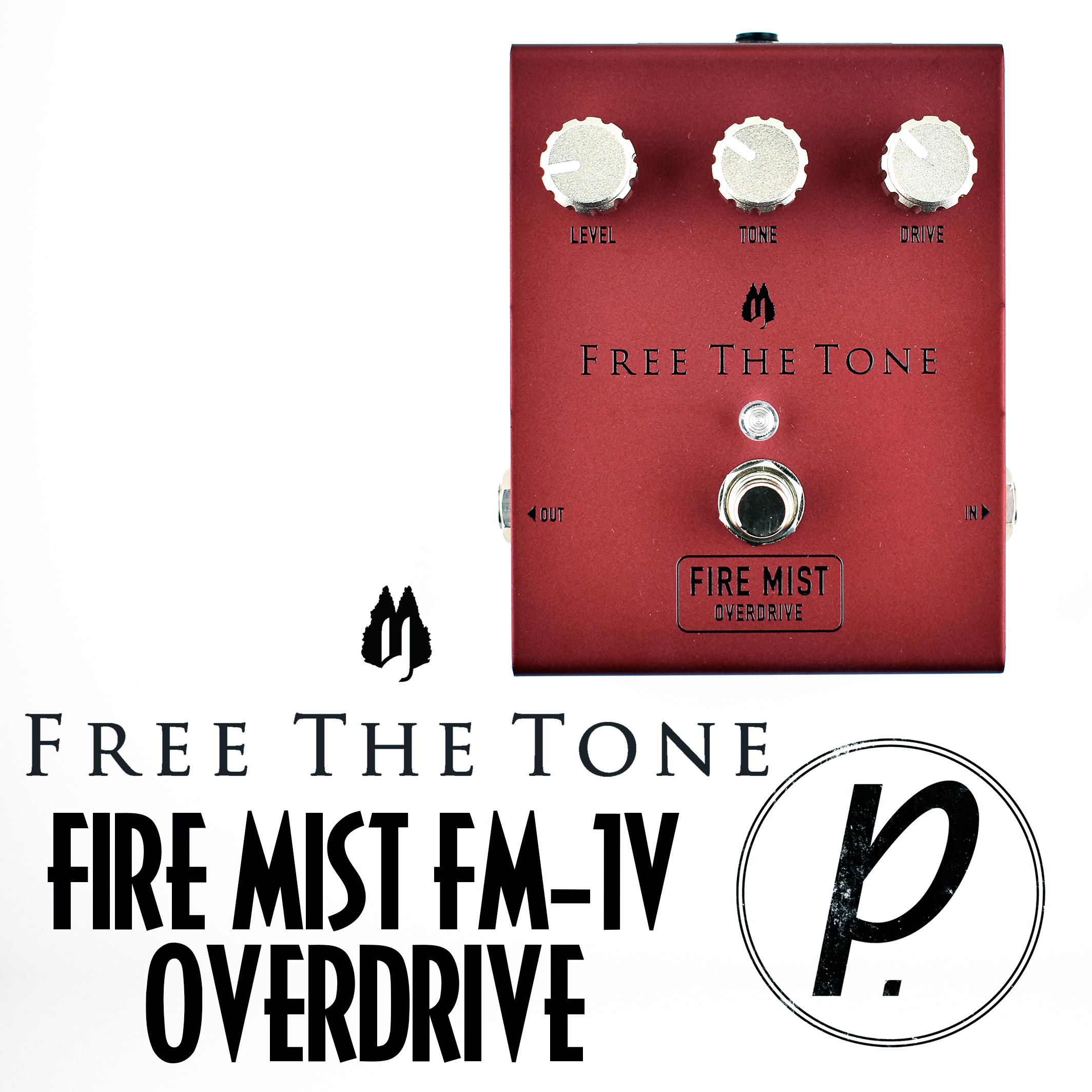 Free The Tone Fire Mist Fm 1v Overdrive Pedal Of Day Bbe Wah Class A Circuit Design Icon Music
