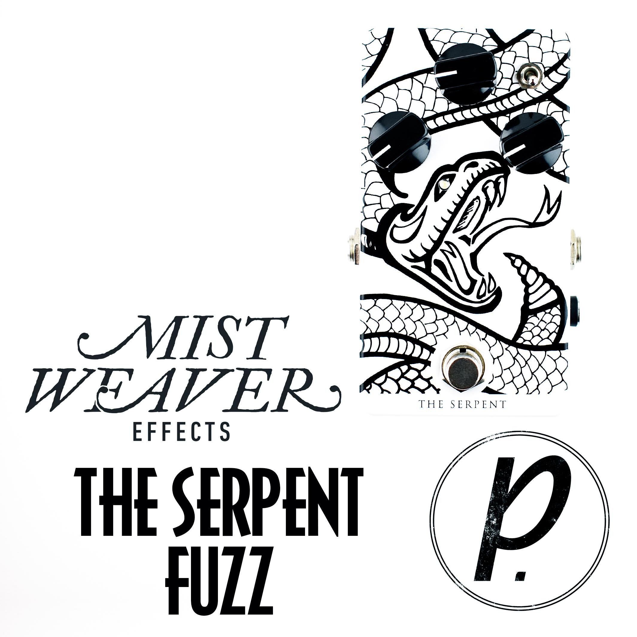 mistweaver effects the serpent fuzz pedal