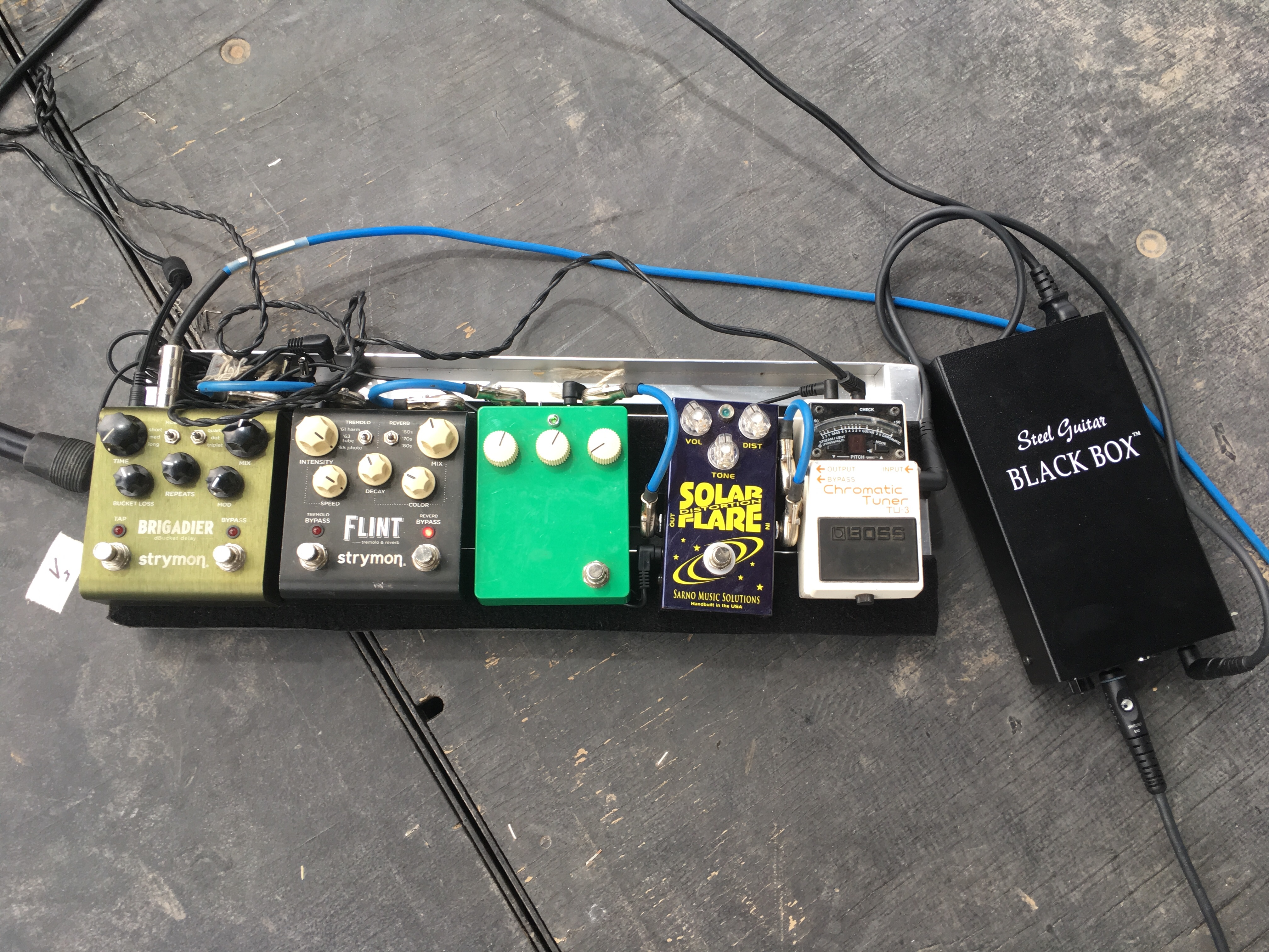 Scott Metzger Pedalboard 1 Pedal Of The Day Board Wiring