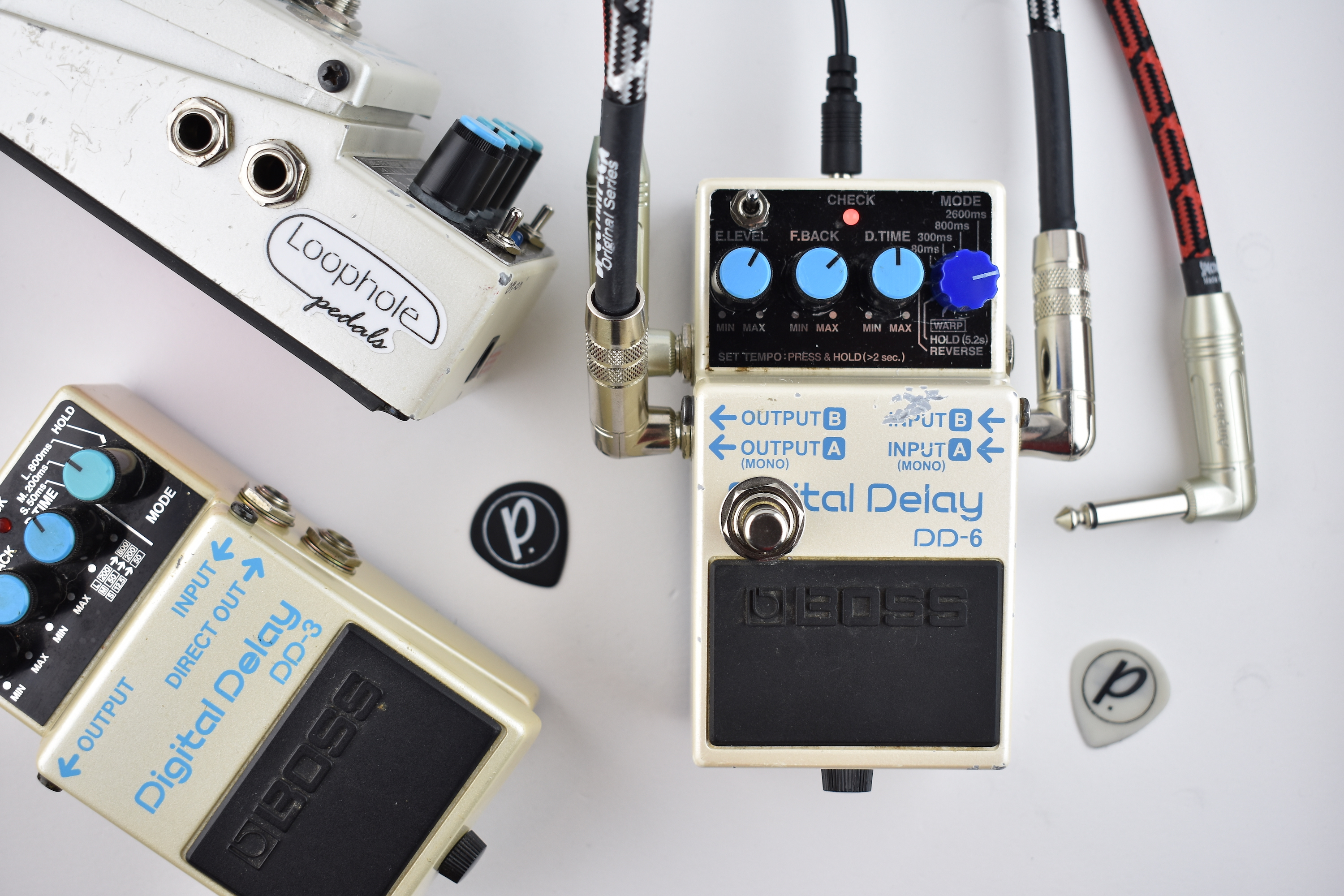 buying new reasonable price best selling Loophole Pedals Modded Boss DD-6 Delay - Pedal of the Day