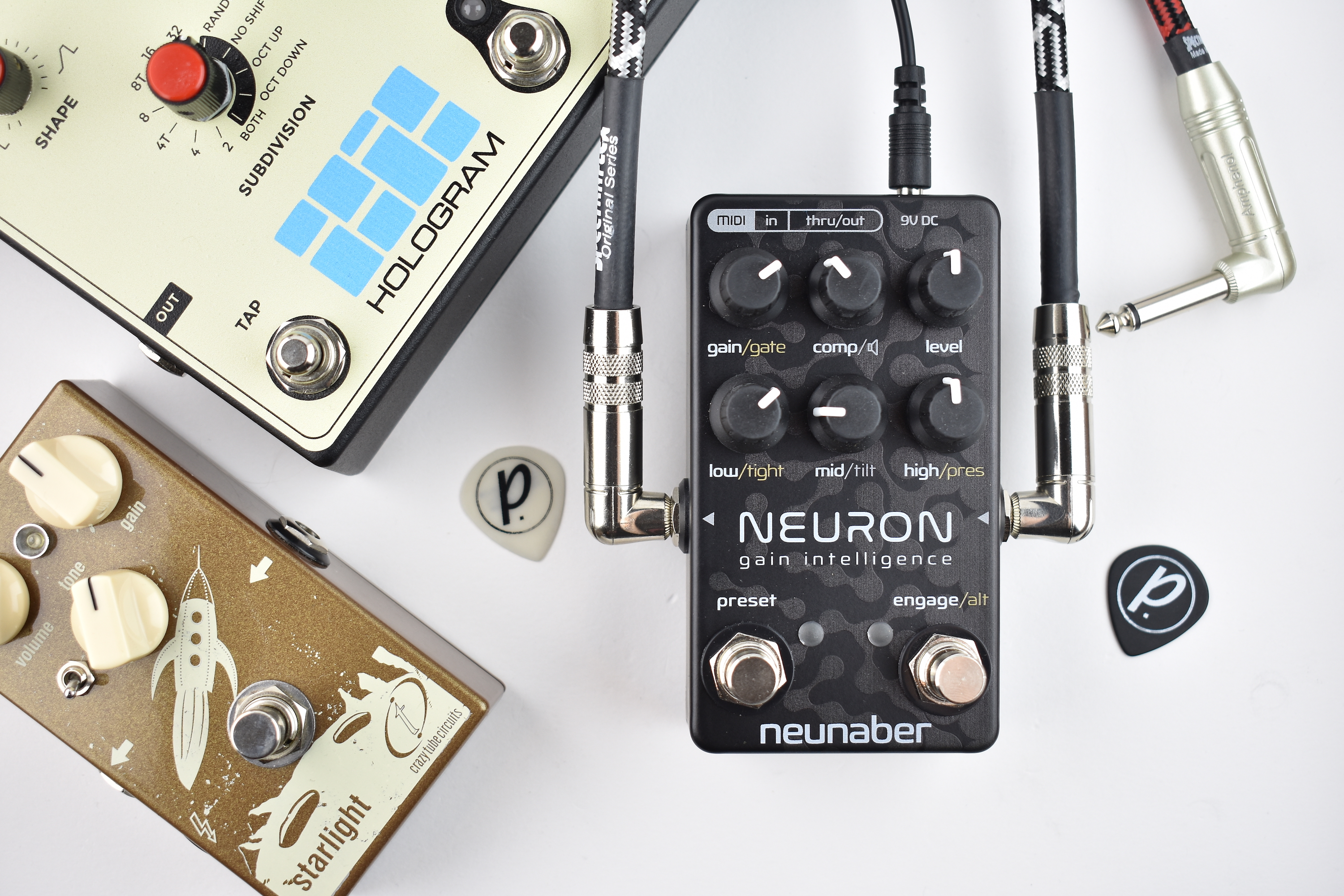 neunaber audio neuron gain intelligence preamp pedal of the day. Black Bedroom Furniture Sets. Home Design Ideas