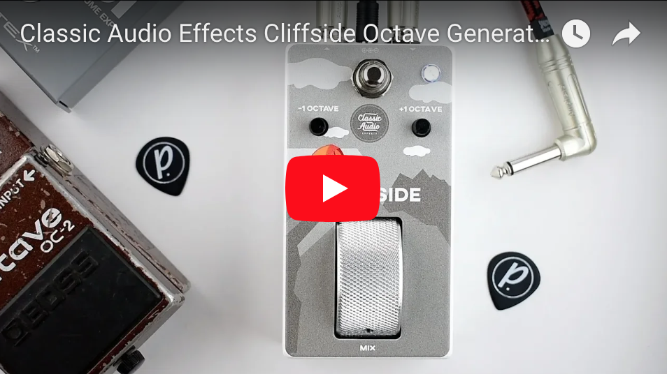 Classic Audio Effects Cliffside Octave Generator - Pedal of