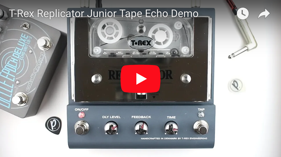 t rex replicator junior tape echo pedal of the day. Black Bedroom Furniture Sets. Home Design Ideas