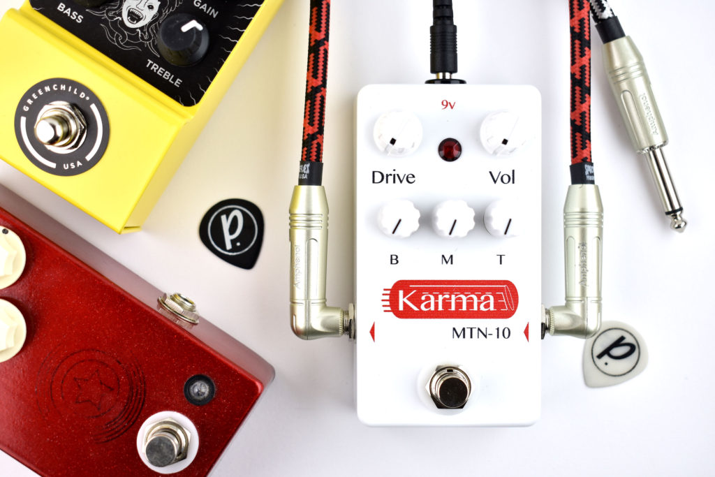 karma guitar amplifiers mtn 10 overdrive distortion pedal of the day. Black Bedroom Furniture Sets. Home Design Ideas