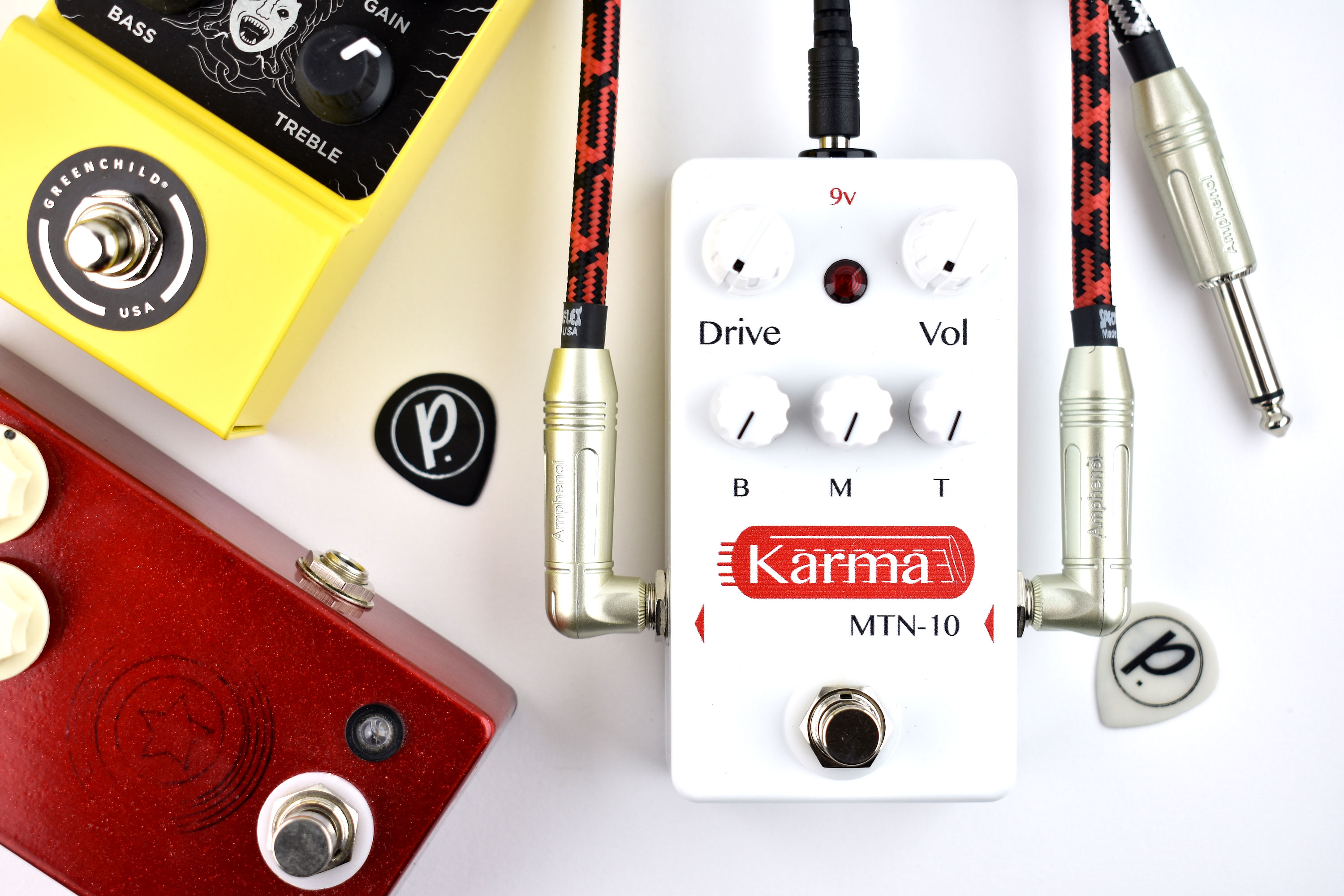 Karma Guitar Amplifiers MTN-10 Overdrive Distortion - Pedal of the Day