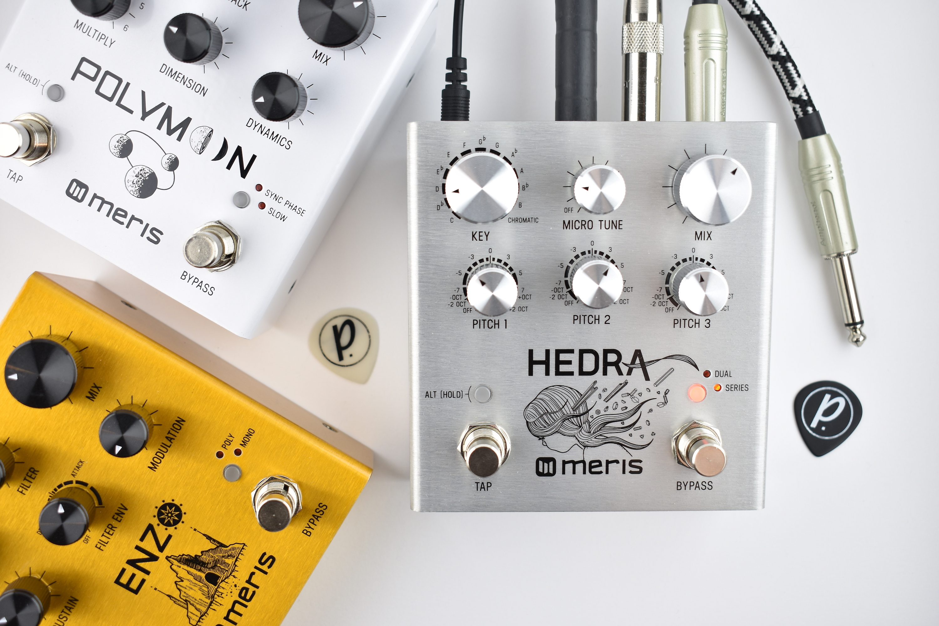 Meris Hedra Rhythmic Pitch Shifter Delay - Pedal of the Day